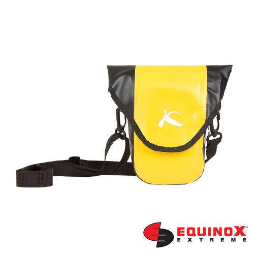 【露營趣】EQUINOX karana 可背式 腰包 防水 防震 3C袋 相機袋 相機包 防水相機袋 3C包 數位相機 單眼相機 (黃色) S 59021
