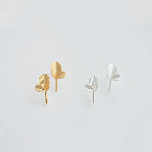 耳環 韓版甜美葉子耳環【TSF254】 BOBI  03/24 0