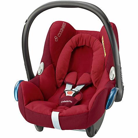 荷蘭【Maxi-Cosi 】CabrioFix 新生兒提籃汽座 (汽車安全座椅) - 深紅/桃粉 0