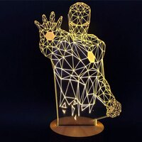 3D Led 創意小夜燈