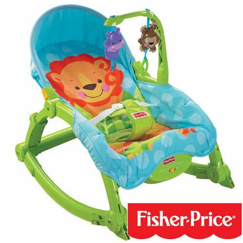 『121婦嬰用品館』費雪 可愛動物攜帶式安撫兩用躺椅 0