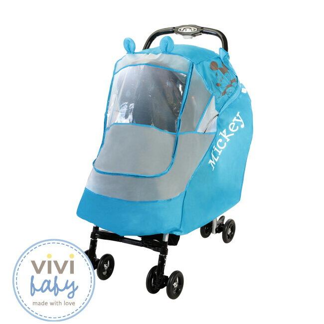 ViViBaby - Disney迪士尼米奇防風/防雨罩 (藍) 1