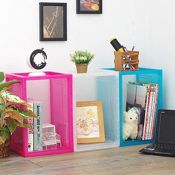 書櫃 書架 收納櫃 樹德巧拼收納盒 玩具收納箱 置物櫃【YV4226】快樂生活網