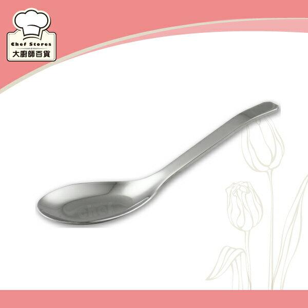 OSAMA王樣日式大台匙304厚料不銹鋼湯匙-大廚師百貨