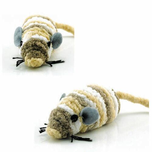 【Co.S】三色毛絨小老鼠/球~貓咪玩具