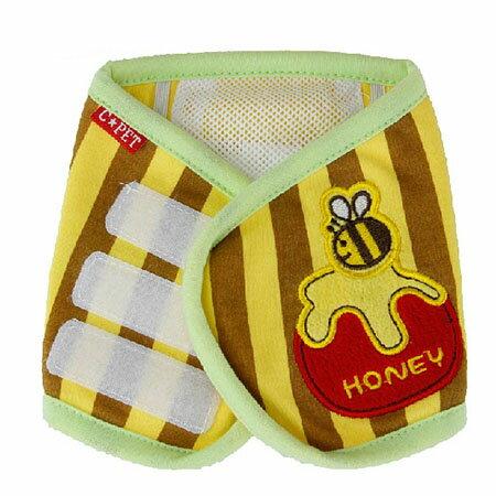 【小樂寵】可愛小蜜蜂條紋禮貌帶