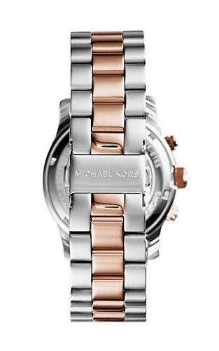 美國Outlet 正品代購 Michael Kors MK 三眼 雙色精鋼 滿鑽 手錶 腕錶 MK6166 4