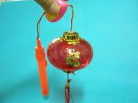 音樂花燈大紅燈籠 富貴手提音樂燈光小燈籠 元宵燈籠(水晶燈)/{促60}一袋50個入