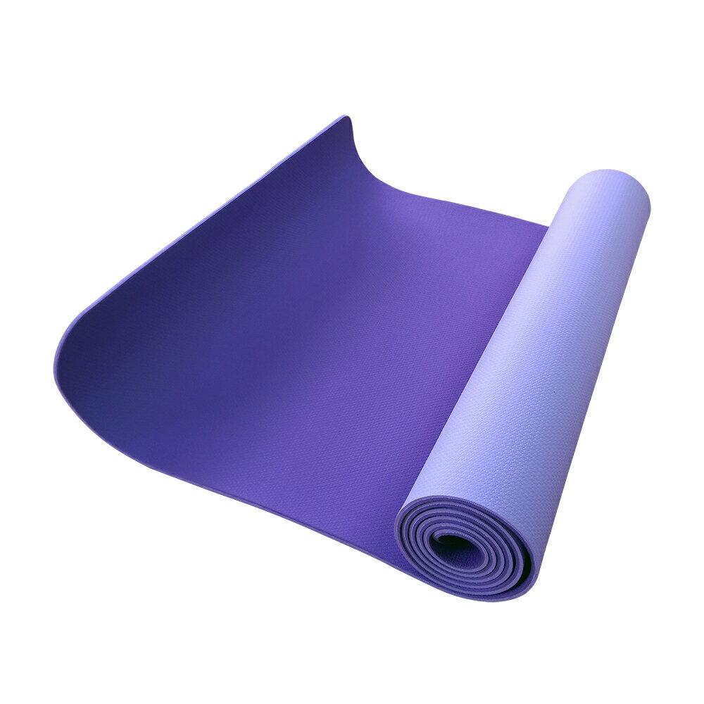 52s 環保TPE雙色止滑瑜珈墊 HSC-TPE5(附贈瑜珈背袋) 1