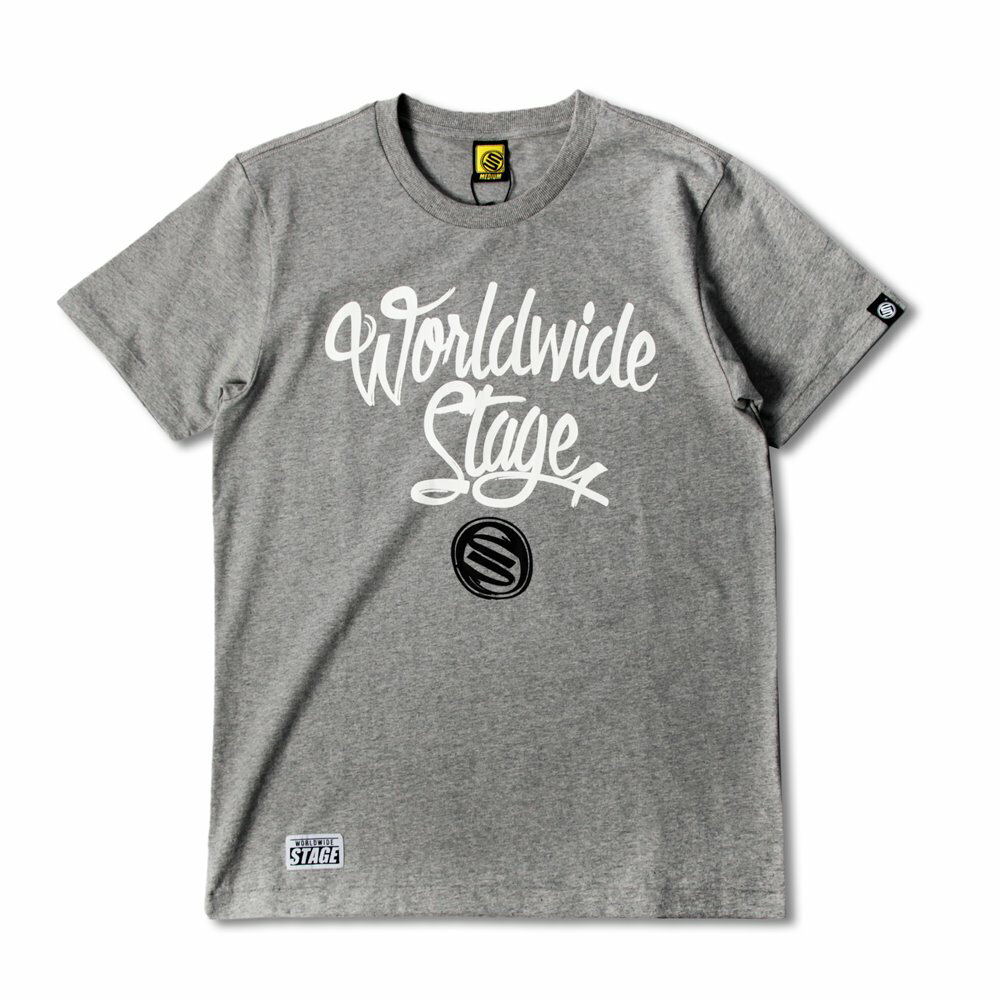 STAGE WORLD FAMOUS  TEE  黑色/灰色  兩色 0
