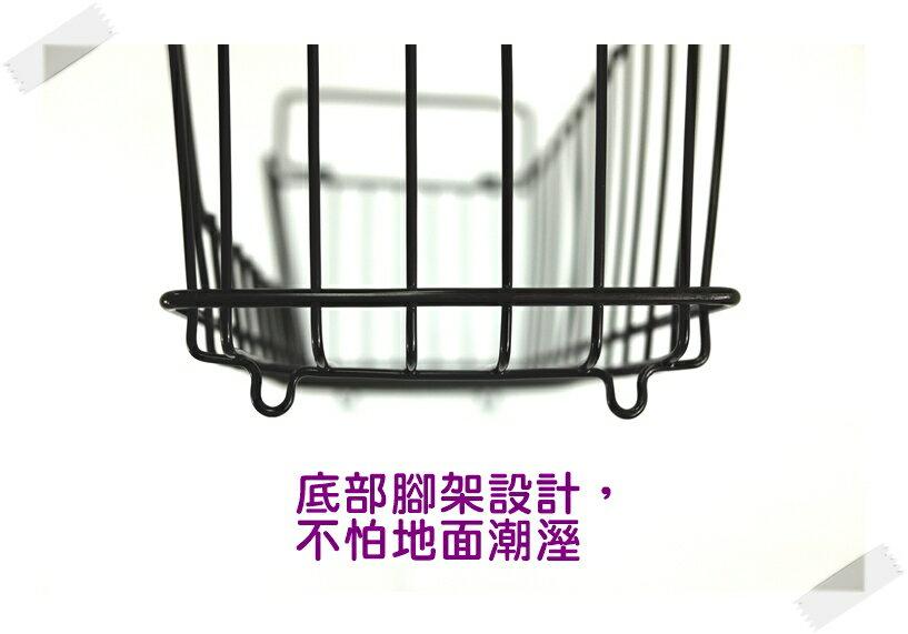 【凱樂絲】媽咪好幫手櫃子鐵線收納籃 (中型) - 自由DIY 空間利用 透氣通風, 客廳, 廚房, 衣櫃適用 1