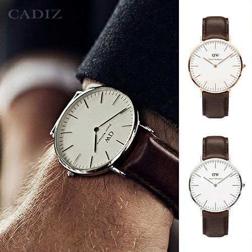 【Cadiz】瑞典DW手錶Daniel Wellington 0109DW玫瑰金 0209DW銀 Bristol 40mm [代購/ 現貨] 0