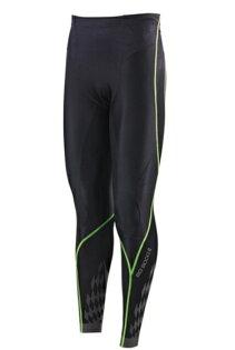 [陽光樂活] MIZUNO 美津濃 男款 BG8000 II 第二代 頂級機能壓縮緊身褲 K2MJ5B0193 黑x綠