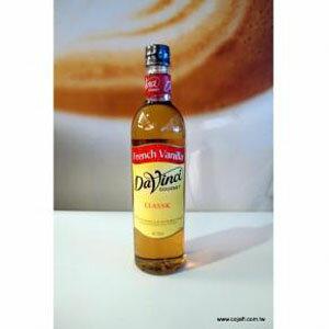 達文西法式香草糖漿 Davinci- 塑膠瓶750ml/罐【良鎂咖啡吧台原物料商】