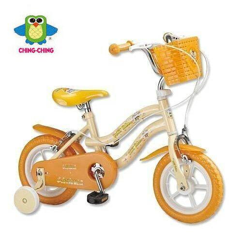 ~親親Ching Ching~12吋腳踏車 ^(橙色^)~河馬 ZS1250Y ^(消費滿
