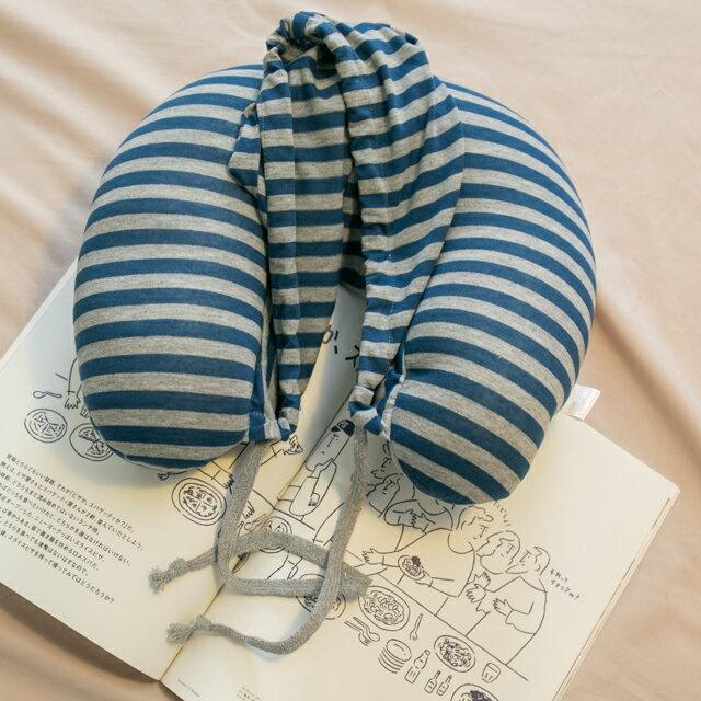 無印帽 頸枕 藍灰色 紓壓/休息 便利實用 4