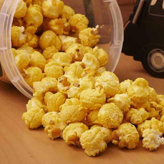 星球工坊 爆米花 - 焦糖布丁 60g 隨手包 排隊美食爆米花 球型爆米花