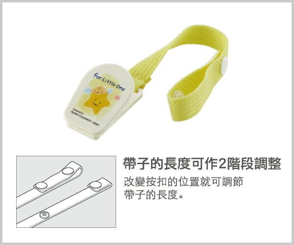 Richell利其爾 - 固齒器 翠綠色手指型 (附固定夾) 3