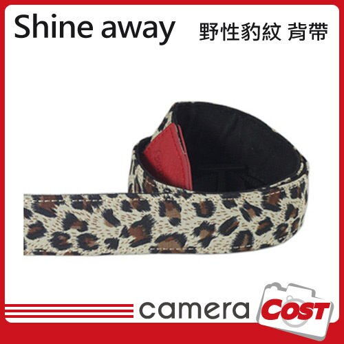 shine away 手工真皮相機背帶-野性豹紋 背帶 類單適用 ZR1500 GF2 RX100M3 - 限時優惠好康折扣