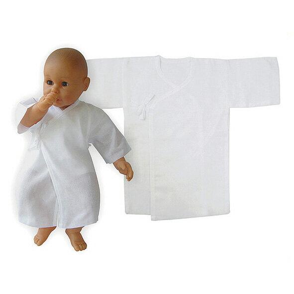 寶貝屋 - 無接縫紗布長肚衣 0