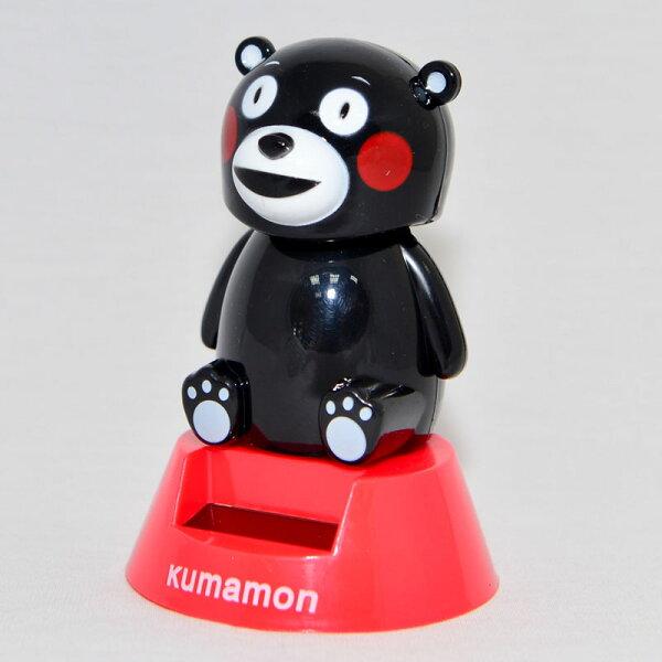 熊本熊 加油! 太陽能搖頭娃娃 日本帶回