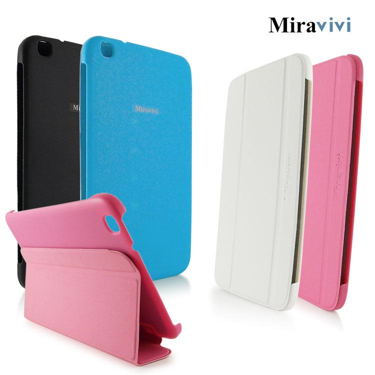 Miravivi Samsung Galaxy Tab3 8.0吋經典三折薄型側立皮套