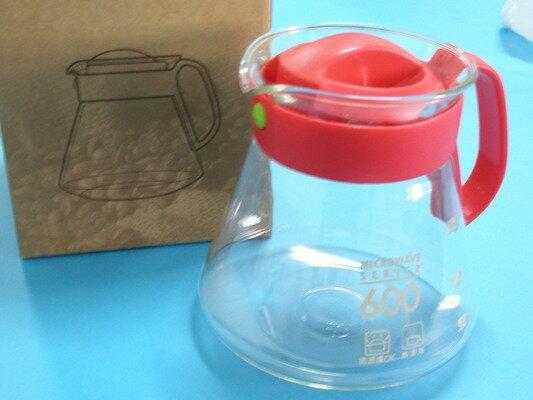600桔花壺FZ600泡茶壺600ml耐熱玻璃壺MIT製/一個入{促149}