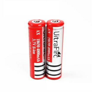 【露營趣】中和 Ultrafire 18650鋰電池 3.7V 4000mAh 18650電池 18650充電電池 手電筒 頭燈 TNR-112