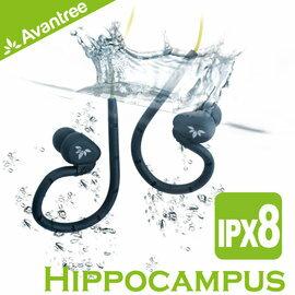 【風雅小舖】【Avantree Hippocampus 防水後掛式運動耳機】可下水使用 符合人體工學 游泳/浮潛/衝浪/路跑等運動適用 0