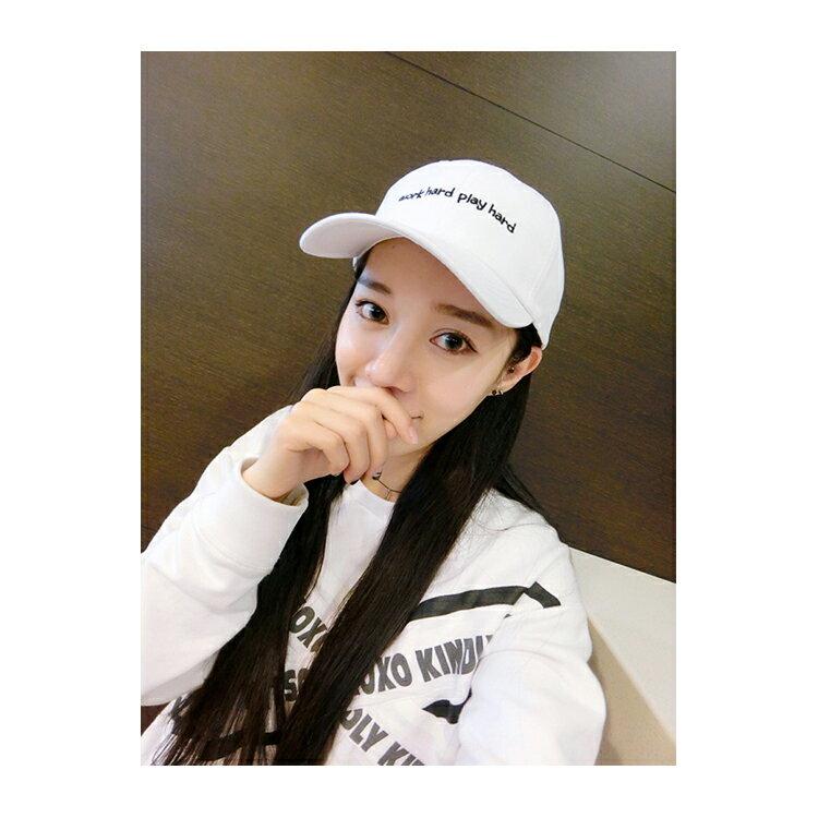 棒球帽/鴨舌帽 字母 運動 可調節 遮陽帽 棒球帽【QI8525】 BOBI  09/01 2