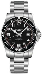 LONGINES L36954536深海征服者潛水機械腕錶/黑面黑圈41mm