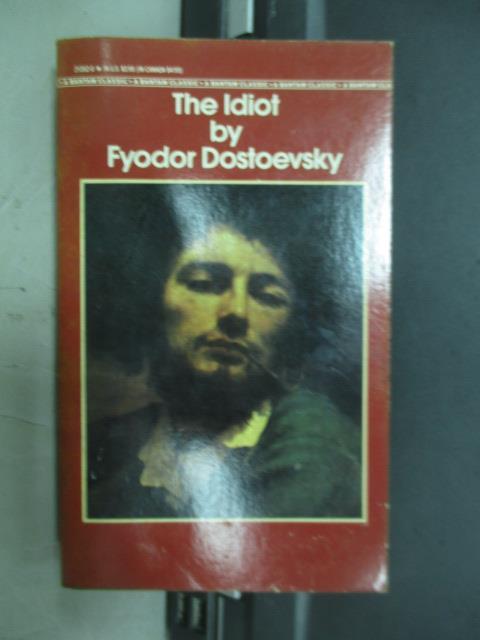 ~書寶 書T1/原文小說_MNH~The ldiot_Fyodor dostoevsky