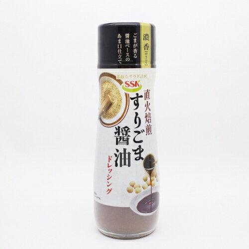 【橘町五丁目】日本SSK直火焙煎芝麻醬油沙拉醬-180ml