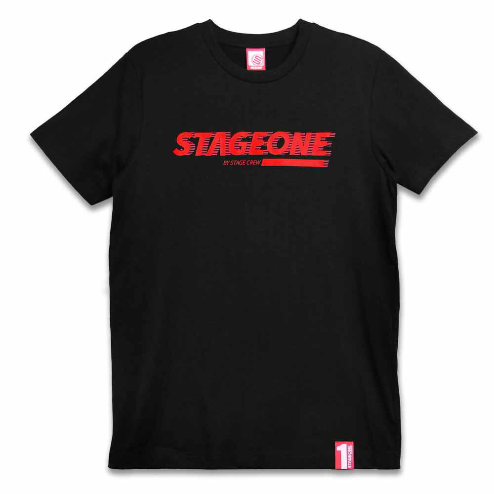 STAGEONE MOTION TEE 黑色 / 紅色 兩色 4