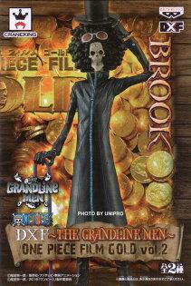 台灣代理版 電影版 DXF THE GRANDLINE MEN ONE PIECE FILM GOLD VOL.2 單售 布魯克 BROOK 海賊王 航海王 公仔