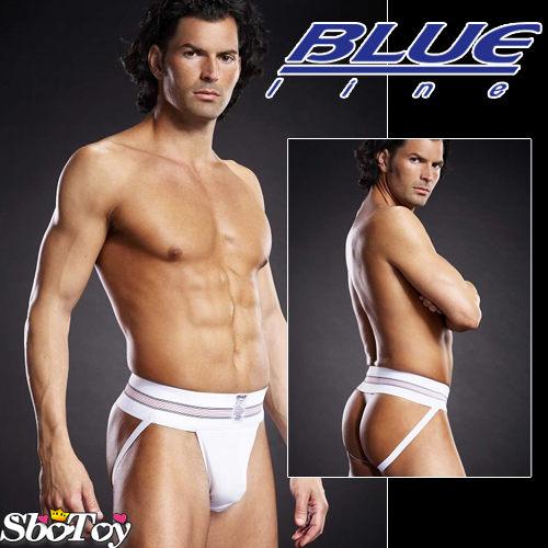 【紫星情趣用品】美國Blue Line-拳擊手提臀男用褲-潮流白 L/XL BLM005-適合亞洲男性尺寸(8160139)