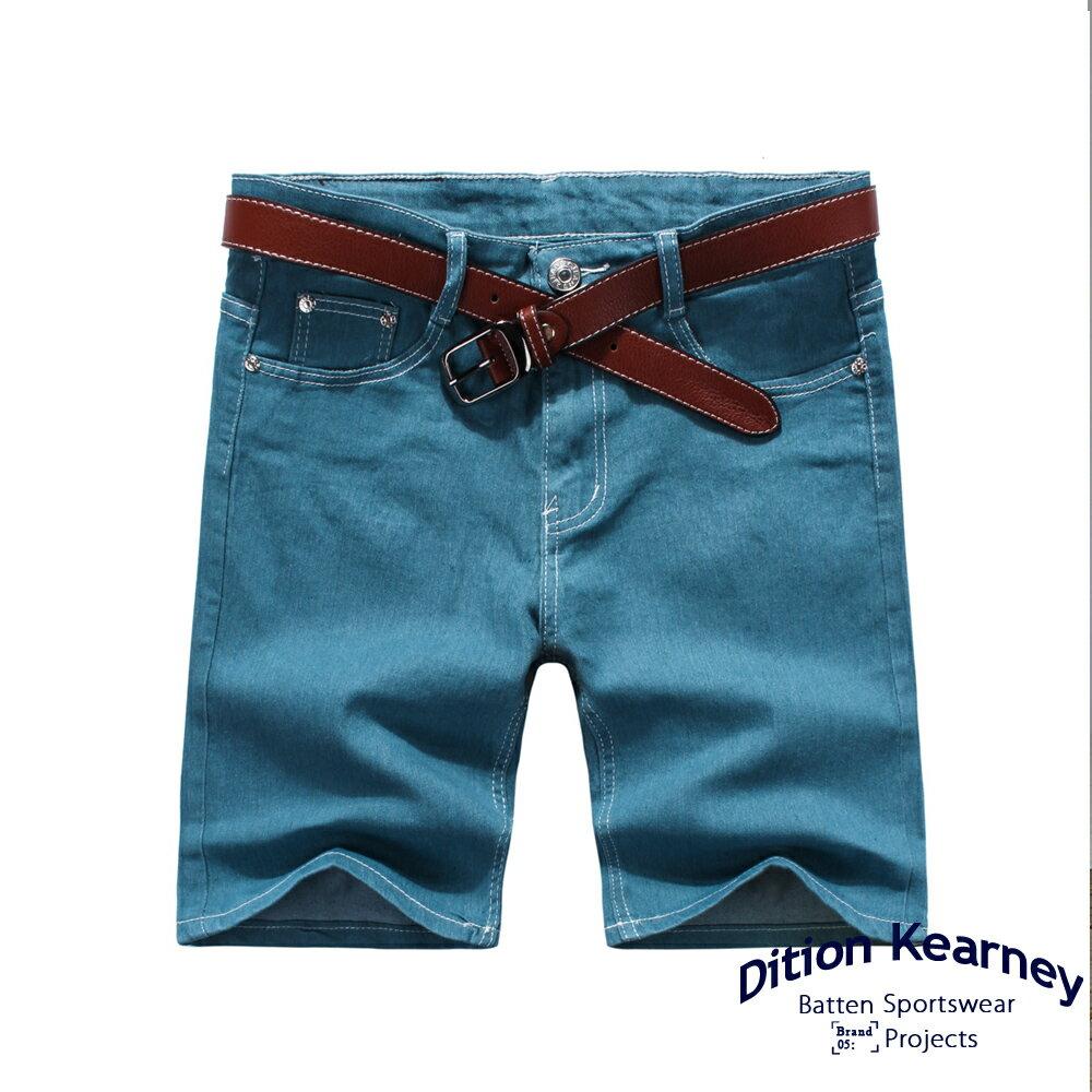 DITION SHOP 韓系原色DENIM丹寧牛仔短褲 GD足球襪 跑鞋 2