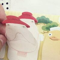 神隱少女周邊商品推薦PGS7 (現貨+預購) 日本卡通系列商品 - 神隱少女 造型 便條紙 N次貼 宮崎駿 無臉男 便利貼