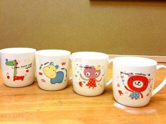 【HEYLIFE優質生活家】【瓷器工藝】動物之家馬克杯 優質嚴選 品質保證
