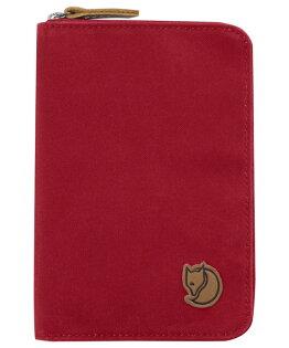 【鄉野情戶外用品店】Fjallraven |瑞典|  小狐狸護照包/護照夾 零錢包/24220 《紅色》