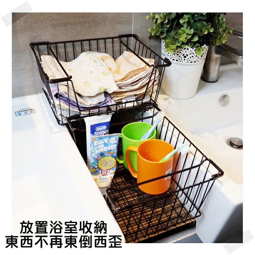 【凱樂絲】媽咪好幫手櫃子鐵線收納籃 (小型) - 自由DIY 空間利用 透氣通風, 客廳, 廚房, 衣櫃適用 4