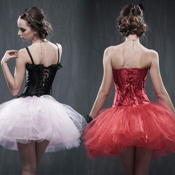 9色超蓬高塑型蓬蓬裙(澎澎裙)-黑、白、粉紅、灰、水粉、紅、水藍、草綠、淡紫