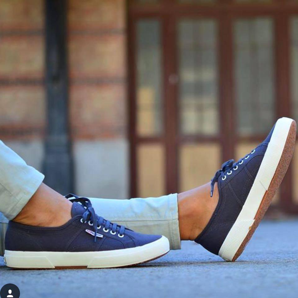 【SUPERGA】義大利國民鞋-深藍 5