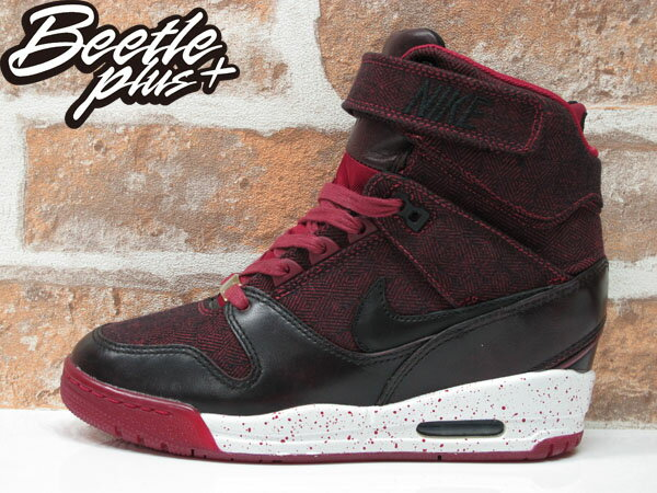 BEETLE PLUS 全新 NIKE WMNS AIR REVOLUTION SKY HI CITY 城市限定 LONDON 倫敦 牛仔布紋 楔型 女鞋 內增高 633525-600