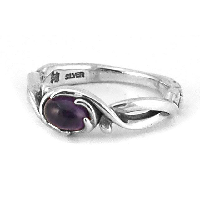 【海外訂購】【Bloody Mary】Arsu 紫水晶純銀戒指 (BMR1378-Acab) 0