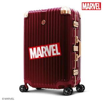 【加賀皮件】Deseno Marvel 漫威復仇者 鏡面 PC 29吋 細鋁框箱 行李箱 旅行箱 鋼鐵人 DL2413