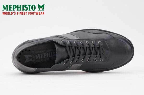 Mephisto 法國工藝皮革休閒鞋 黑 4