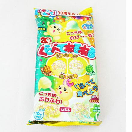 [敵富朗超市]Kracie手作雙色黏黏糖-鳳梨&哈密瓜