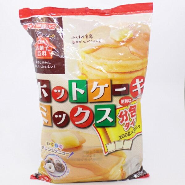 【橘町五丁目】日本日清蛋糕粉(鬆餅粉)200G*3包