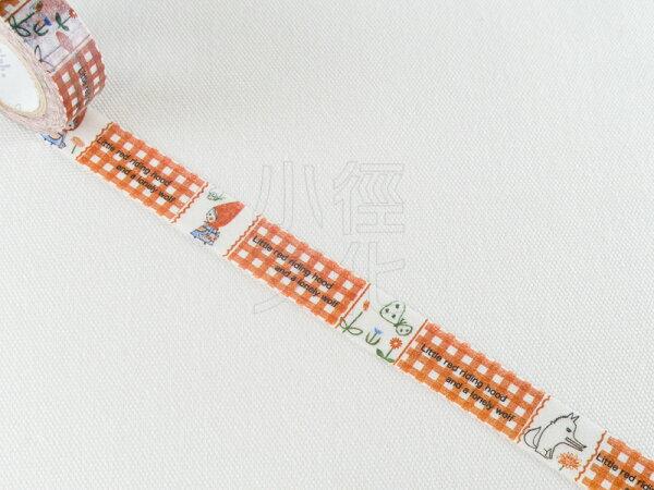 *小徑文化*日本進口紙膠帶 Shinzi Katoh 加藤真治 小紅帽系列 ( ks-mt-10126 )